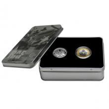 Sada dvou stříbrných mincí 100 let výročí RAF 2018 Proof