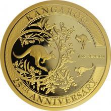 Zlatá mince Kangaroo série - 25. výročí 1 Oz 2018 Proof