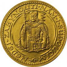 Zlatá mince Svatý Václav Dvoudukát Československý 1929