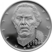 Strieborná minca 200 Kč Aleš Hrdlička 150. výročie narodenia 2019 Proof