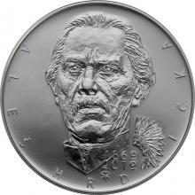 Stříbrná mince 200 Kč Aleš Hrdlička 150. výročí narození 2019 Standard