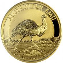 Zlatá investičná minca Emu 1 Oz 2018
