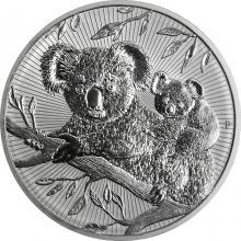 Stříbrná investiční mince Next Generation - Koala 2 Oz 2018 Piedfort