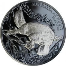 Stříbrná mince Ptakopysk 1 Oz Australia at Night 2018 Proof