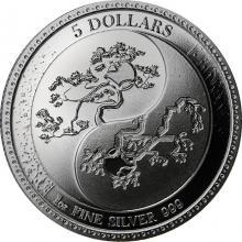Stříbrná investiční mince Equilibrium Tokelau 1 Oz 2018