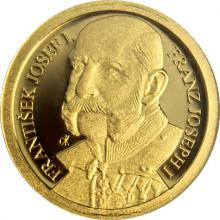 Zlatá mince František Josef I. 2018 Proof