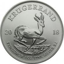 Strieborná investičná minca Krugerrand 1 Oz