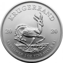 Stříbrná investiční mince Krugerrand 1 Oz