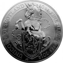 Stříbrná investiční mince The Queen's Beasts The Unicorn 10 Oz 2019