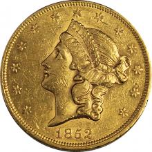 Zlatá minca American Double Eagle Liberty Head 1852