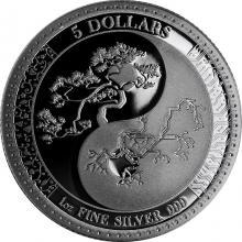 Strieborná minca Equilibrium Tokelau 1 Oz 2018