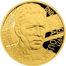 Zlatý dukát Národní hrdinovia - Karel Janoušek 2018 Proof