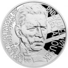 Strieborná medaila Národní hrdinovia - Karel Janoušek 2018 Proof