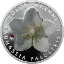 Stříbrná mince Ohrožená příroda - Tolije bahenní 2018 Proof