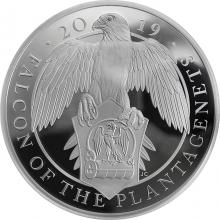 Stříbrná mince 1 kg Falcon of the Plantagenets 2019 Proof