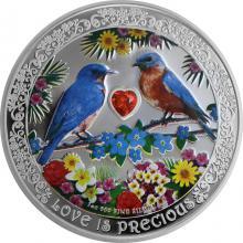 Stříbrná mince Salašníci modří 1 Oz Love is Precious 2019 Proof
