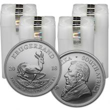 Stříbrná investiční mince Krugerrand 1 Oz (Odběr nad 100 Ks)