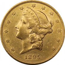 Zlatá minca American Double Eagle Liberty Head 1895