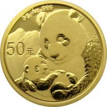 Zlatá investičná minca Panda 3g 2019