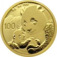 Zlatá investičná minca Panda 8g 2019
