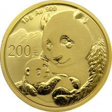Zlatá investičná minca Panda 15g 2019