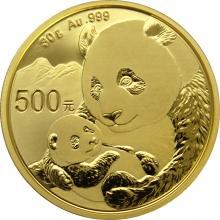 Zlatá investiční mince Panda 30g 2019