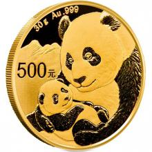 Zlatá investičná minca Panda 30g 2019