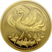 Zlatá minca 30. výročie nástupu na trón japonského cisára 2019 Proof