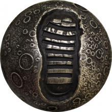Strieborná minca Mesiac - prvý krok 1 Oz 2019 Standard