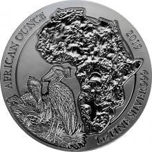 Strieborná investičná minca Člnozobec veľký Rwanda 1 Oz 2019