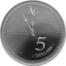Stříbrná investiční mince Chronos Tokelau 1 Oz 2019