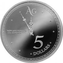 Strieborná minca Chronos Tokelau 1 Oz 2019