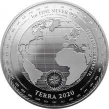 Strieborná minca Terra Tokelau 1 Oz 2020