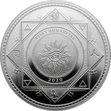 Stříbrná mince Vivat Humanitas Tokelau 1 Oz 2020
