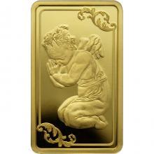 Zlatá minca Anjel strážny 2019 Proof