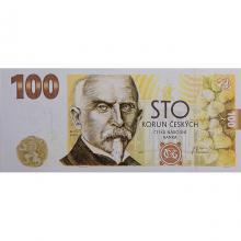 Budování československé měny bankovka 100 Kč emise 2019