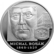 Stříbrná mince Michal Bosák - 150. výročí narození 2019 Proof