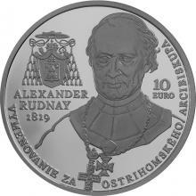 Stříbrná mince A. Rudnay ostřihomským arcibiskupem - 200. výročí 2019 Standard