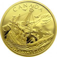 Zlatá minca Príchod Európanov 2019 Proof