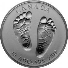 Strieborná minca Vitaj na svete 2019 Proof (.9999)