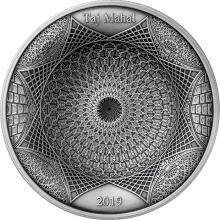 Stříbrná mince Tádž Mahal 2019 Antique Standard