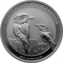 Strieborná investičná minca Kookaburra Rybárik 1 Oz 2017