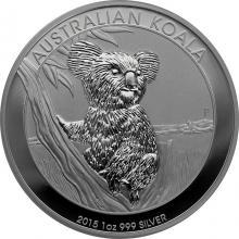 Stříbrná investiční mince Koala 1 Oz 2015