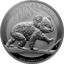 Stříbrná investiční mince Koala 1 Oz 2016