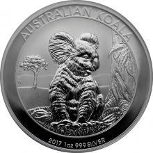 Stříbrná investiční mince Koala 1 Oz 2017