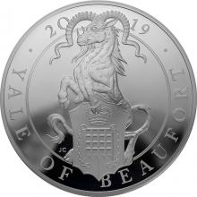 Stříbrná mince 5 Oz Yale of Beaufort 2019 Proof