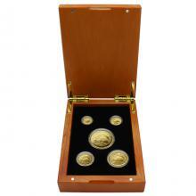 Australian Kangaroo Sada zlatých mincí 2019 Proof