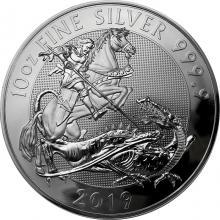 Stříbrná investiční mince Valiant 10 Oz 2019