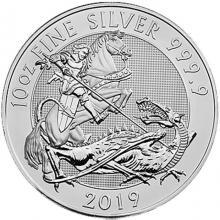Strieborná investičná minca Valiant 10 Oz 2019