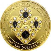 Zlatá mince 2 Oz Safírová tiára 2019 Proof